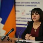 ԼՂՀ ՀԿՀ նախագահ Սրբուհի Արզումանյանի մամլո ասուլիսը