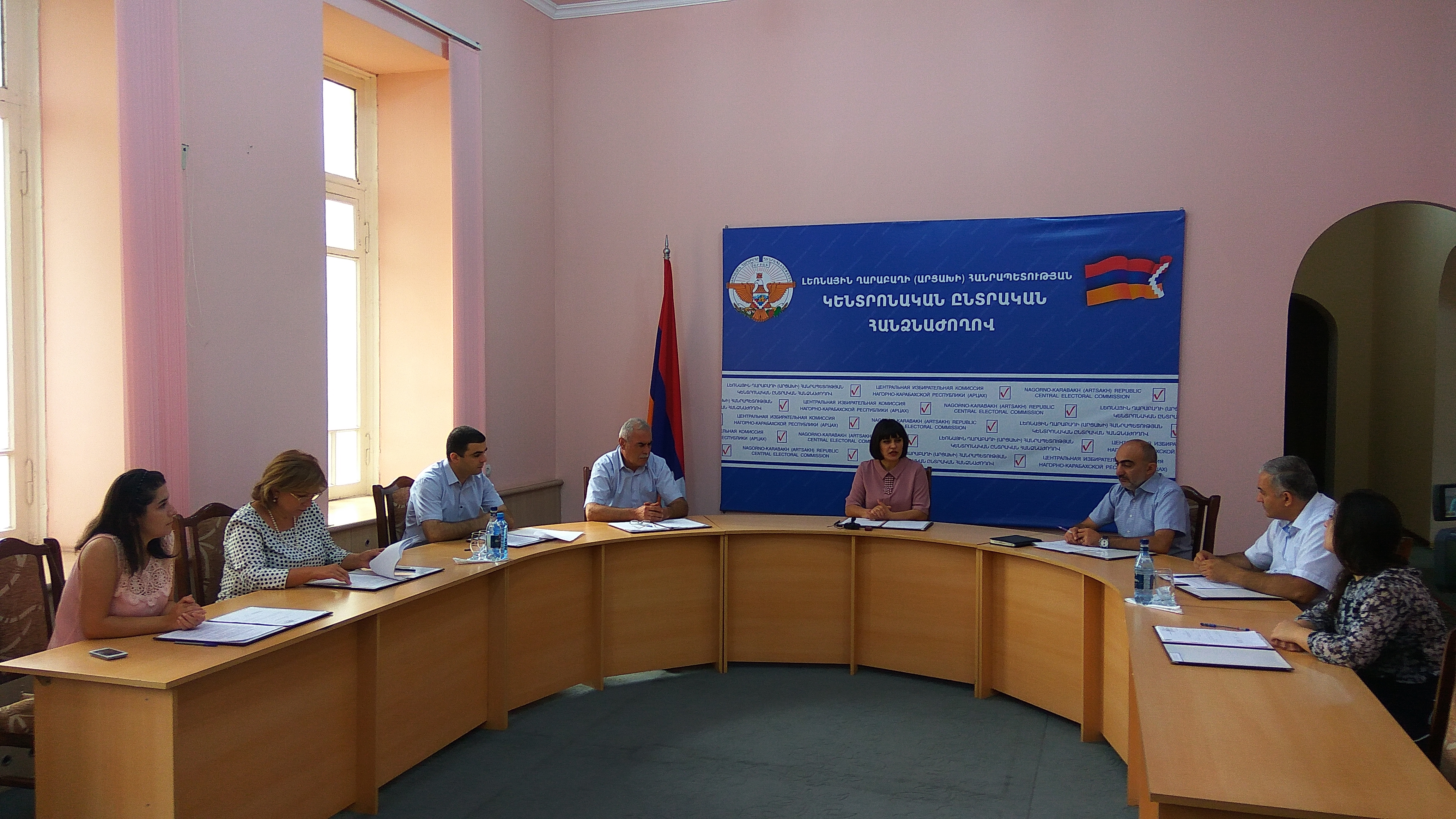Կենտրոնական ընտրական հանձնաժողովի արտահերթ նիստ